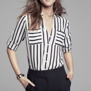 Express | Portofino Shirt Slim Fit Striped size L
